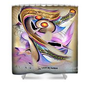 The Nata-rajah - The Great Dancer Shower Curtain