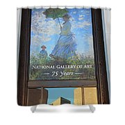 The National Gallery Of Art Is 75 Years Old Shower Curtain