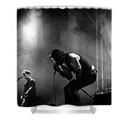 The National Performing At Hyde Park London Shower Curtain