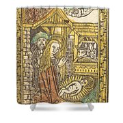 The Nativity Shower Curtain