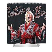The Nature Boy, Ric Flair Shower Curtain