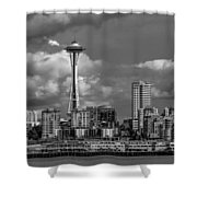 The Needle Shower Curtain
