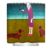 The New Addition Shower Curtain