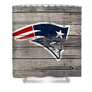 The New England Patriots 3c Shower Curtain