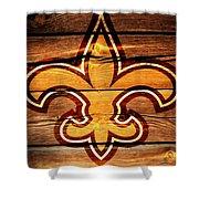 The New Orleans Saints 3b Shower Curtain