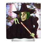 The New Wicked Witch Of The West Shower Curtain