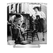 The New Woman, C1897 Shower Curtain by Granger