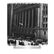 The New York Stock Exchange Shower Curtain