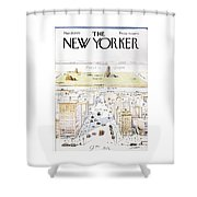 View From 9th Avenue Shower Curtain