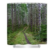 The Next Leg Of The Journey Shower Curtain