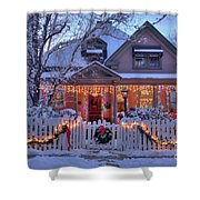The Night Before Christmas Shower Curtain