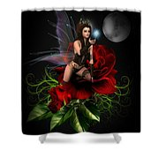 The Night Fairy Shower Curtain