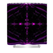 The Night Has A Thousand Eyes Shower Curtain