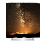 The Night Heaven Struck The Earth Shower Curtain