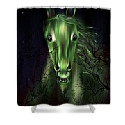 The Night Mare Shower Curtain