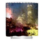The Night Moves Shower Curtain