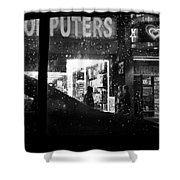 The Night Side Of Town - New York Shower Curtain