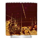 The Nightmare Carousel 12 Shower Curtain