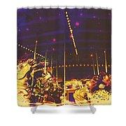 The Nightmare Carousel 7 Shower Curtain