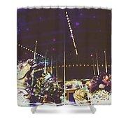 The Nightmare Carousel 8 Shower Curtain