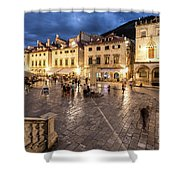 The Nights Of Dubrovnik Shower Curtain