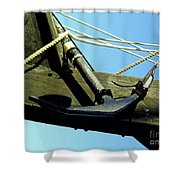 The Ninas Anchor Shower Curtain