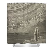 The Ninth Heaven Shower Curtain