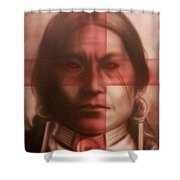 The Noble Savage  Shower Curtain