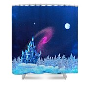 The North Pole Shower Curtain by Corey Ford