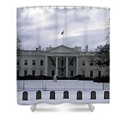 The North View Of The White House Shower Curtain