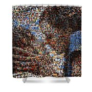 The Notebook Mosaic Shower Curtain