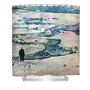 The Nowhere Man By Mary Bassett Shower Curtain