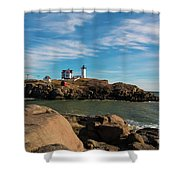 The Nubble 2 Shower Curtain