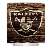 The Oakland Raiders 1e Shower Curtain