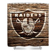 The Oakland Raiders 1f Shower Curtain