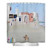 The Oasis North Africa Shower Curtain