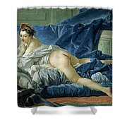 The Odalisque Shower Curtain by Francois Boucher