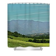 The Ojai Valley Shower Curtain