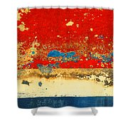 The Old Boat Shower Curtain