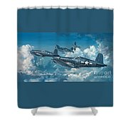 The Old Breed Shower Curtain