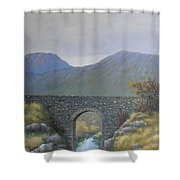 The Old Bridge At Connor Pass Shower Curtain