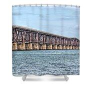 The Old Camelback Bridge Shower Curtain