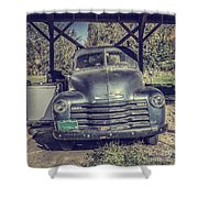 The Old Chevy Vermont Shower Curtain