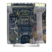 The Old Church - Biserica Veche  Shower Curtain