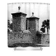 The Old City Gates Shower Curtain