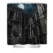 The Old City Jail Shower Curtain