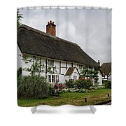 The Old Cottage Micheldever Shower Curtain