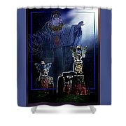The  Old  Druid Shower Curtain