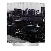 The Old Engine Shower Curtain