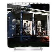 The Old Front Porch Shower Curtain